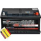 BlackMax Starterbatterie 12V 100Ah Batterie statt 88 90...