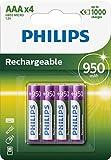 Philips R03B4A95/10 Rechargeable Akku AAA (950mAh,...