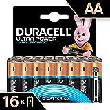 Duracell Ultra Power Alkaline AA Batterien, 16er Pack