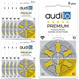 Hörgerätebatterie von Audilo 10 Prämie (PR70) | Für...