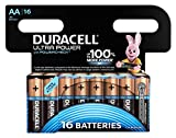 Duracell MN 1500 Ultra Power B16 Alkaline AA Batterien,...