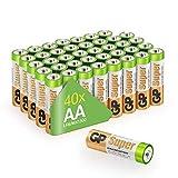 Batterien Mignon AA LR06 Vorratspack 40 Stück GP...