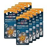 ANSMANN Hörgerätebatterien 13 (Orange 60 Stück) Typ...