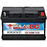 Solarbatterie 100Ah BIG 12V Versorgungsbatterie Boot...
