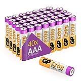 GP Extra Alkaline Batterien AAA Micro 40 Stück...