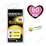 Duracell Activair Size 10 (Yellow tab) Hearing Aid...