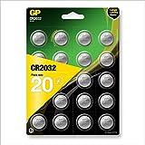 GP CR2032 Lithium Knopfzellen 3V, Knopfbatterien CR...