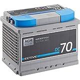 ECTIVE 70Ah 12V AGM Batterie DC 70 VRLA...