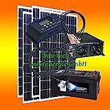520 Watt Insel Solaranlage für Garten und Hobby....