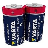 Varta Longlife Max Power Batterie (D Mono Alkaline...