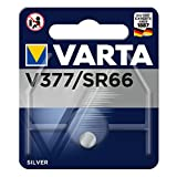Varta Batterie Knopfzellen, IEC-Code SR66, 1,55 V/27...
