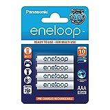 Panasonic eneloop, Ready-to-Use Ni-MH Akku, AAA Micro,...