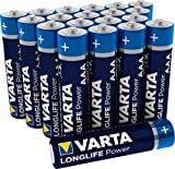VARTA Longlife Power AAA Micro LR03 Batterie (20er...