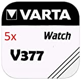 Varta Knopfzellen - V377 Lot de 5