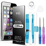 Jojobnj Akku für iPhone 6s, 2280mAh hoher Kapazität...
