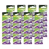 GP Batteries Extra Lithium Knopfzellen CR2032 3V, 40...