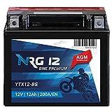 NRG Roller Batterie 12AH 200A/EN 12V AGM...