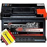 BlackMax Autobatterie 12V 65Ah mit Polfett statt 55Ah...