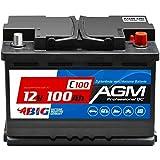 BIG AGM Batterie 100Ah 12V Solarbatterie...