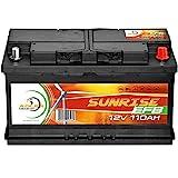 Solarbatterie 110Ah 12V Solar Akku Wohnmobil Boot...