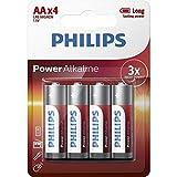 Philips - Power Alkaline - AA Batterie ,4 er pack