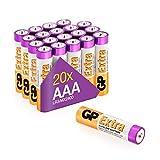 GP Extra Alkaline Batterien AA Longlife (1,5V) 80...