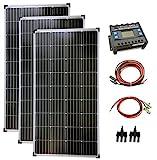 solartronics Komplettset 3x130 Watt Solarmodul...