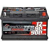 Autobatterie Start-Stop EFB 12V 90Ah 900A BlackMax...