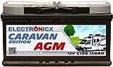 Electronicx Caravan Edition V2 Batterie AGM 120 AH 12V...