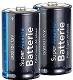 PEARL Monozelle 1 5 Volt: Super Alkaline Batterien Mono...