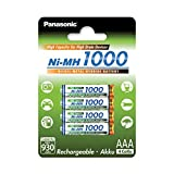 Panasonic High Capacity, Akku Ni-MH 1000, AAA Micro,...