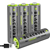 High 4A Out Put Blackube Micro USB Rechargeable Accu...