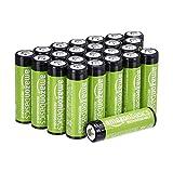 Amazon Basics AA-Batterien, wiederaufladbar, 2000 mAh,...