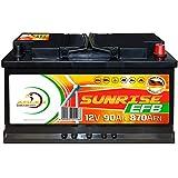 Verbraucherbatterie EFB 12V 90Ah Photovoltaik Boot...