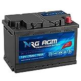 NRG AGM Autobatterie 70Ah 760A/EN 12V Start Stop Plus...