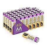 GP Extra Alkaline Batterien AA Longlife (1,5V) 40...