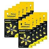 60x Intenso Energy Ultra Hörgeräte Batterie PR70 gelb...