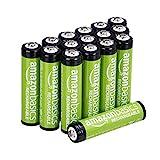 Amazon Basics AAA-Batterien, 800 mAh, wiederaufladbar,...