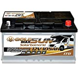 Solar Batterie 105Ah 12V GoldMax Versorger Wohnmobil...