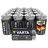 VARTA Power on Demand D Mono Batterien (20er Pack...