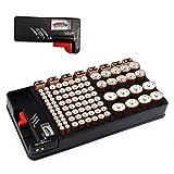 Batterie Organizer, Batterie Aufbewahrungskoffer für...