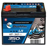 BlueMax U1 Garden Power Rasentraktor-Batterie 12V 32Ah...