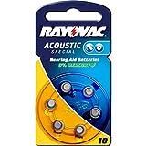 Rayovac Extra Advanced Hörgerätebatterie Typ AE10 6er...