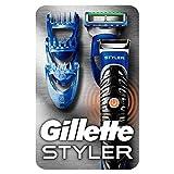 Gillette Styler Rasierer Herren mit Trimmerklinge für...