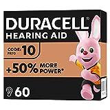 Duracell Hörgerätebatterien Größe 10, 60er Pack...