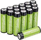 AmazonBasics AA-Batterien, wiederaufladbar, vorgeladen,...