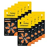 60x Intenso Energy Ultra Hörgeräte Batterie PR48...