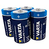 VARTA Longlife Power D Mono LR20 Batterie (4er Pack)...
