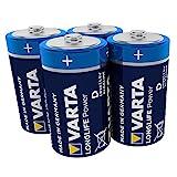 VARTA Longlife Power Batterie D Mono Alkaline Battere...