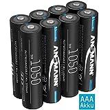 ANSMANN Akku AAA 1050mAh NiMH 1,2V - Micro AAA...